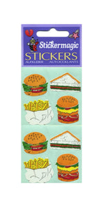 Pack of Paper Stickers - Fast Food