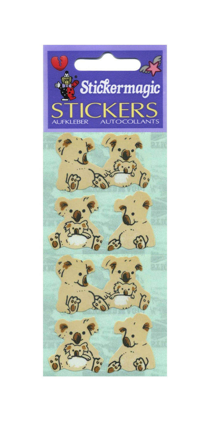 Pack of Paper Stickers - Koalas