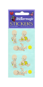 Pack of Paper Stickers - Sad Babies