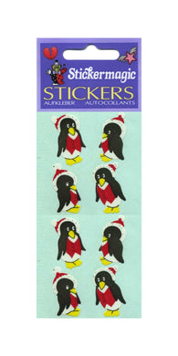 Pack of Paper Stickers - Winter Penguins