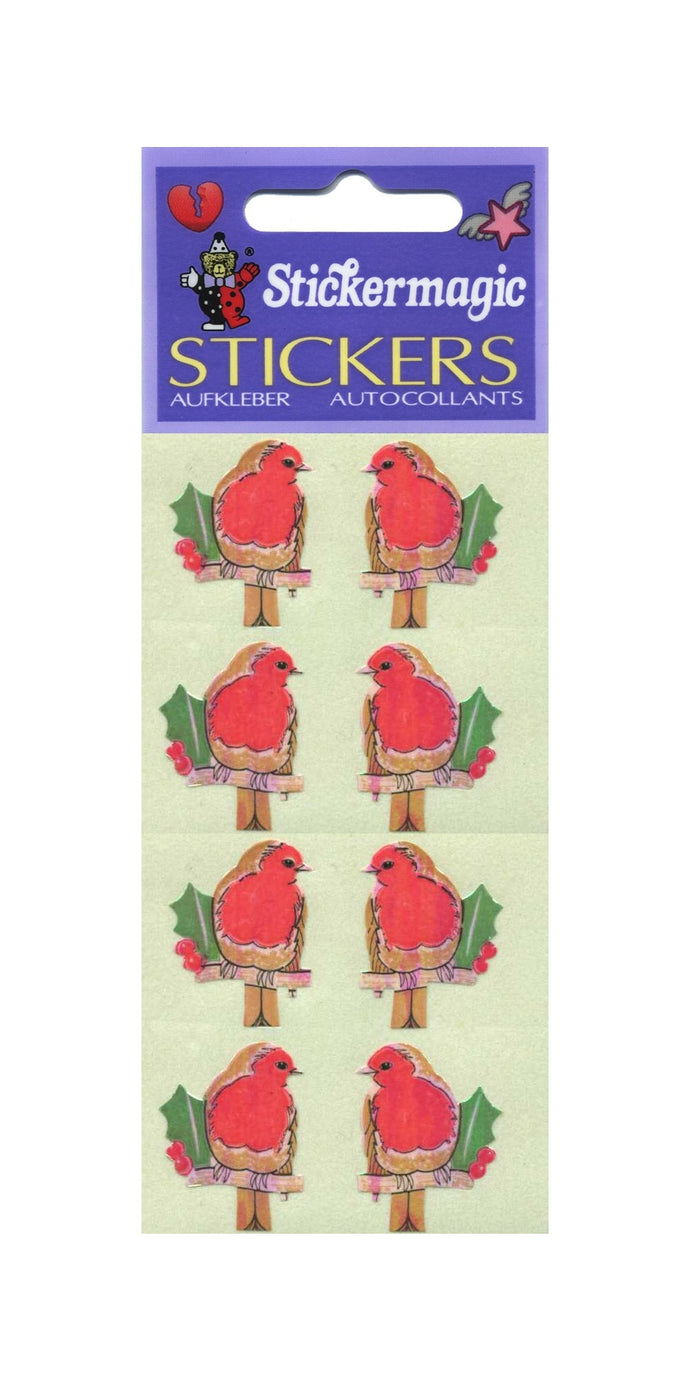 Pack of Pearlie Stickers - Robins