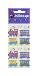 Pack of Pearlie Stickers - Steam Trains