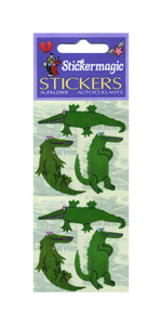 Pack of Pearlie Stickers - Crocodiles
