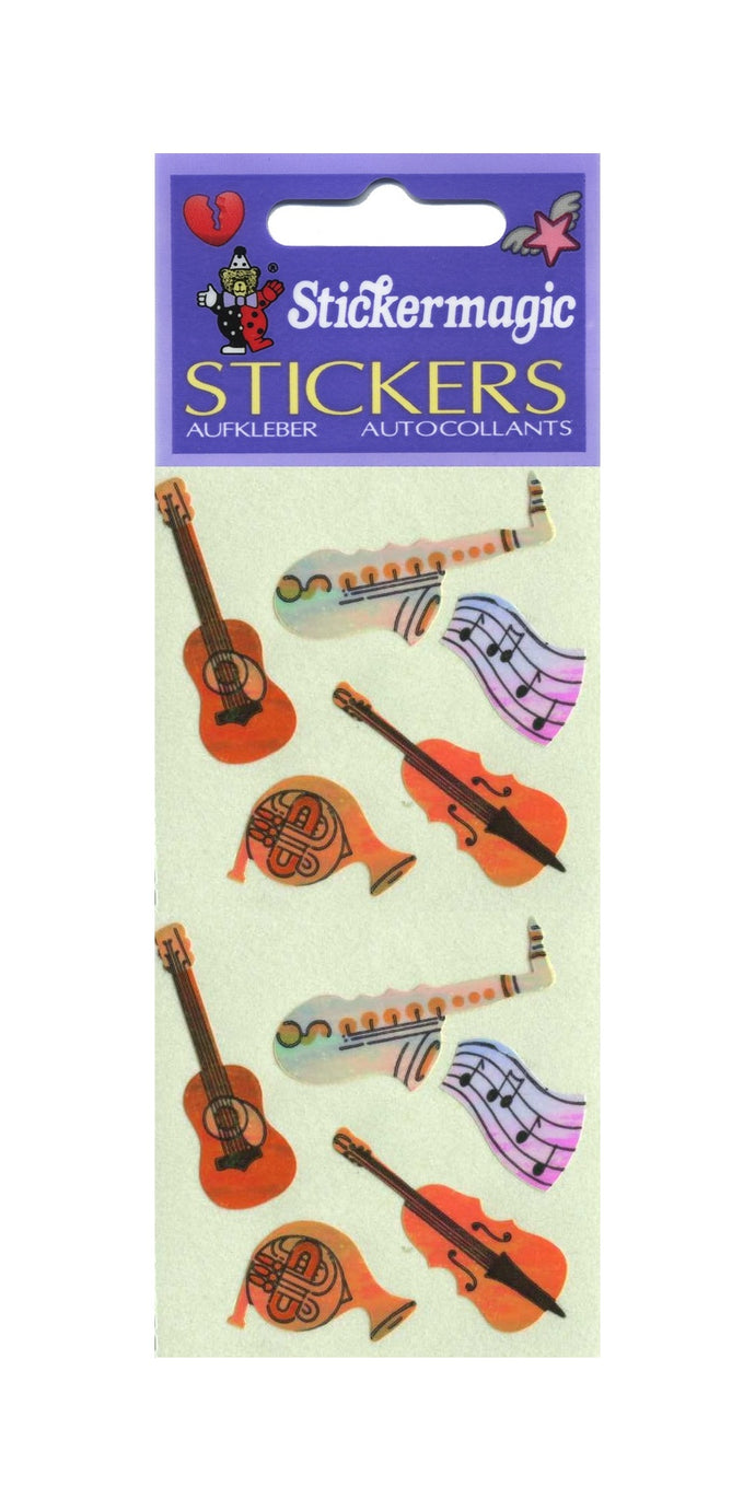 Pack of Pearlie Stickers - Musicalia