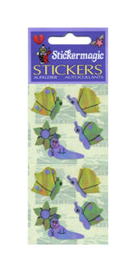 Pack of Pearlie Stickers - Butterflies