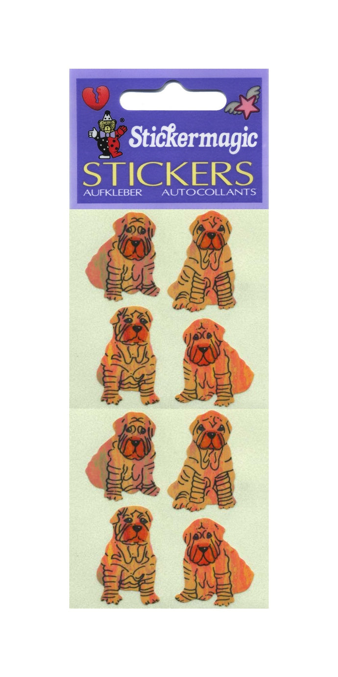 Pack of Pearlie Stickers - Shar Peis