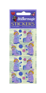 Pack of Pearlie Stickers - Clowns