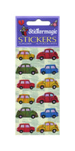 Load image into Gallery viewer, Pack of Pearlie Stickers - Vintage Cars