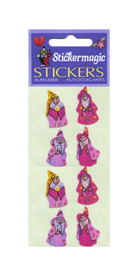 Pack of Pearlie Stickers - Wizards