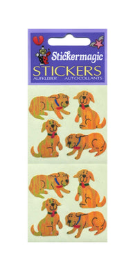 Pack of Pearlie Stickers - Happy The Dog