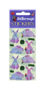 Pack of Pearlie Stickers - Bunny & Carrot