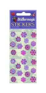 Pack of Pearlie Stickers - Snowflakes