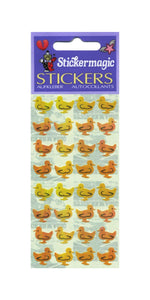 Pack of Pearlie Stickers - Ducklings