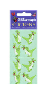Pack of Paper Stickers - Funny Dragons