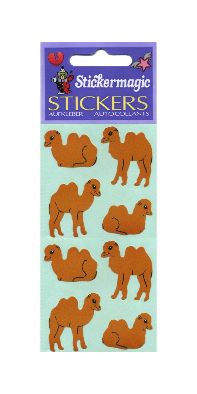 Pack of Paper Stickers - Camels
