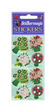 Load image into Gallery viewer, Pack of Paper Stickers - Floral Posies