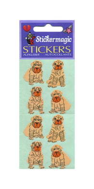 Pack of Paper Stickers - Shar Peis