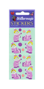 Pack of Paper Stickers - Clowns