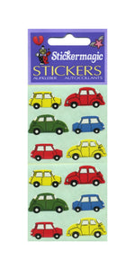Pack of Paper Stickers - Vintage Cars