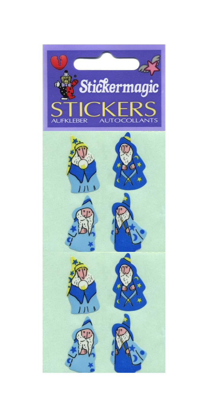 Pack of Paper Stickers - Wizards