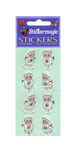 Pack of Paper Stickers - Young Astronauts
