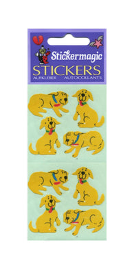 Pack of Paper Stickers - Happy The Dog