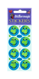 Pack of Paper Stickers - Happy World