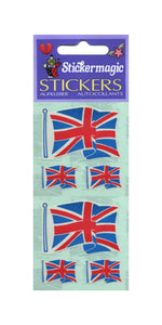 Pack of Paper Stickers - Union Jacks X 3