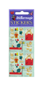 Pack of Paper Stickers - Micro Teddy Hospital