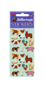 Pack of Paper Stickers - Micro Farmyard Friends
