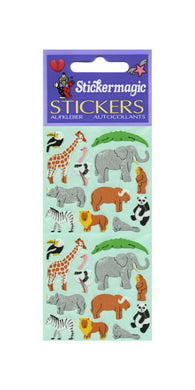 Pack of Paper Stickers - Micro Wildlife