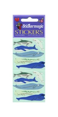 Pack of Paper Stickers - Micro Whales
