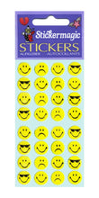 Load image into Gallery viewer, Pack of Paper Stickers - Smiley Expressions