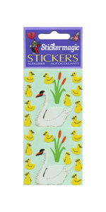 Pack of Paper Stickers - Swans And Cygnets