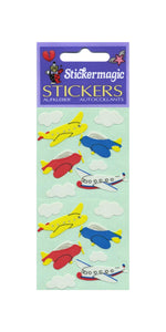 Pack of Paper Stickers - Aeroplanes