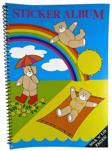 Sticker Album - Teddy Bear