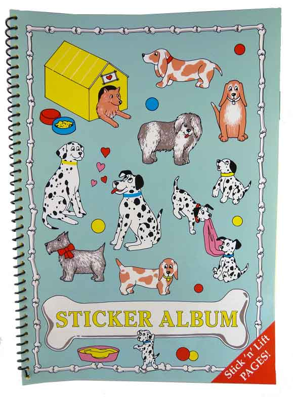 Sticker Album - Dogs
