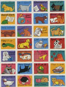 Pack of 112 School Reward Stickers