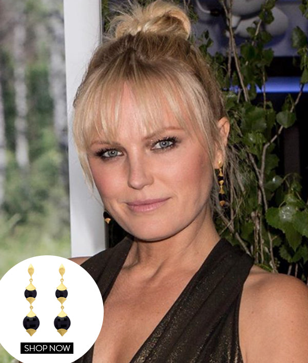 MALIN AKERMAN IN OUR CASABLANCA EARRINGS