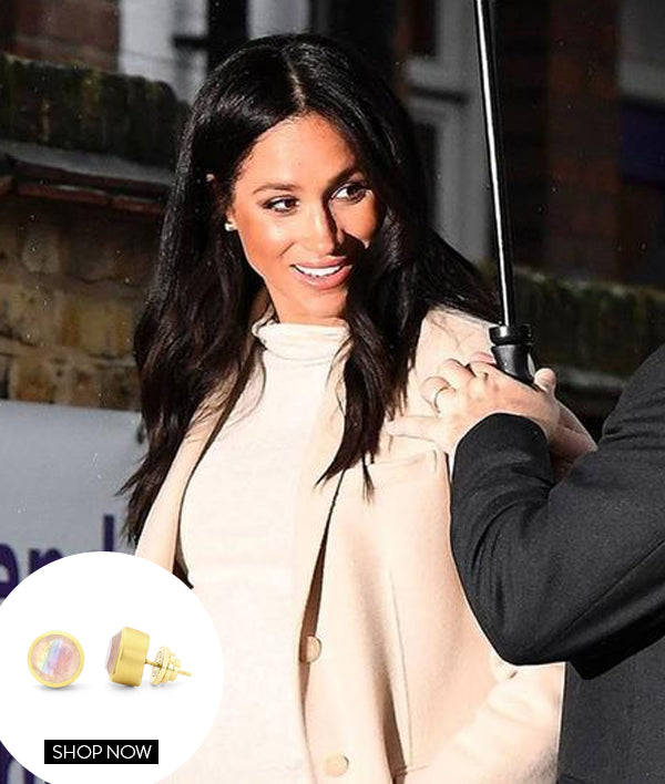MEGHAN MARKLE IN OUR MIDI KNOCKOUT STUDS