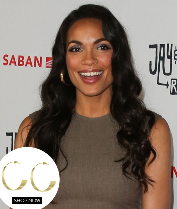 ROSARIO DAWSON IN OUR BOSSA HOOPS
