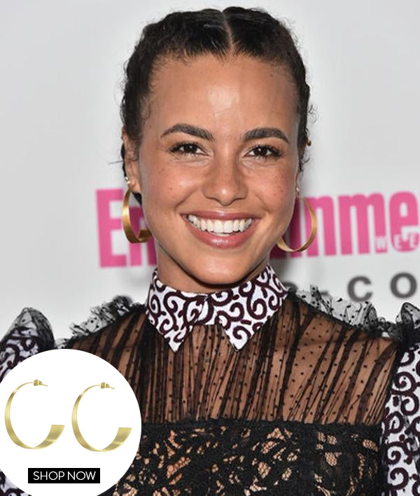 PARISA FITZ-HENLEY IN OUR BOSSA HOOPS