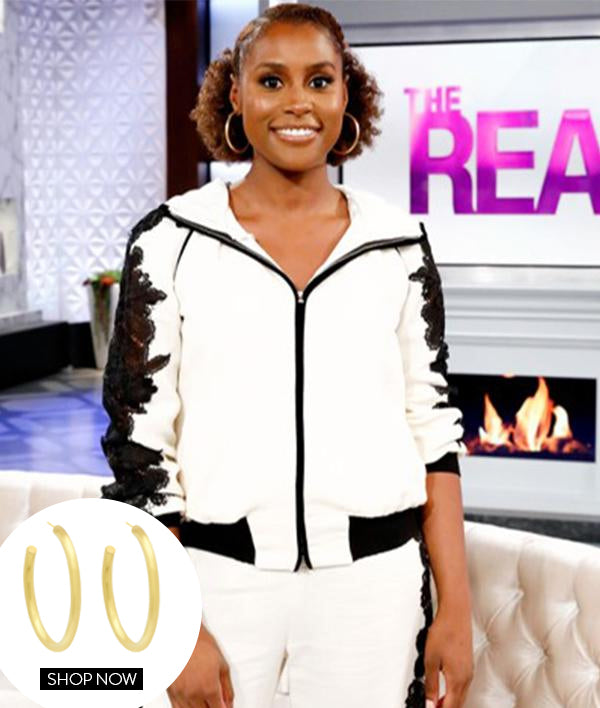 ISSA RAE IN OUR LARGE TUBULAR HOOP