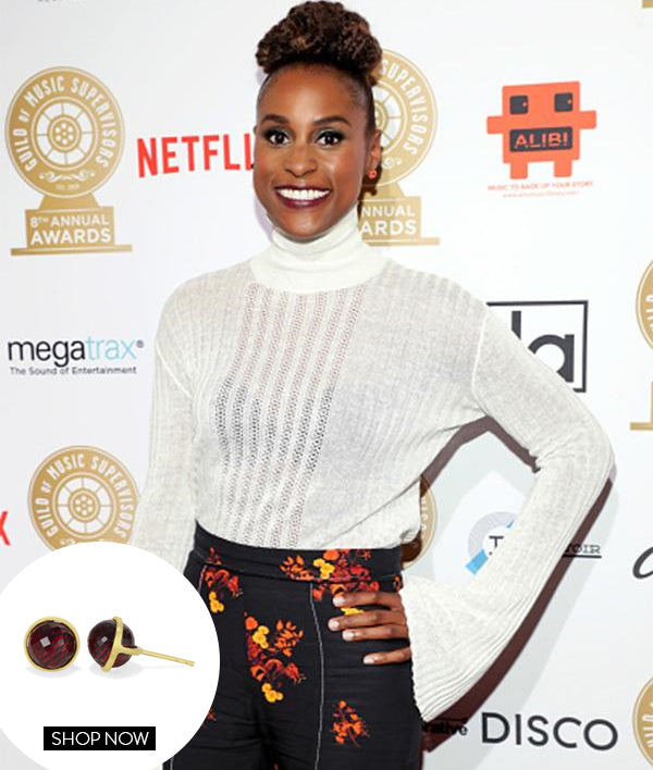 Issa Rae in our Ipanema Studs