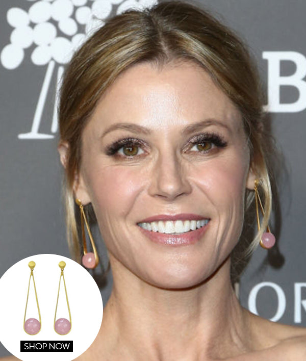 JULIE BOWEN IN OUR IPANEMA EARRINGS