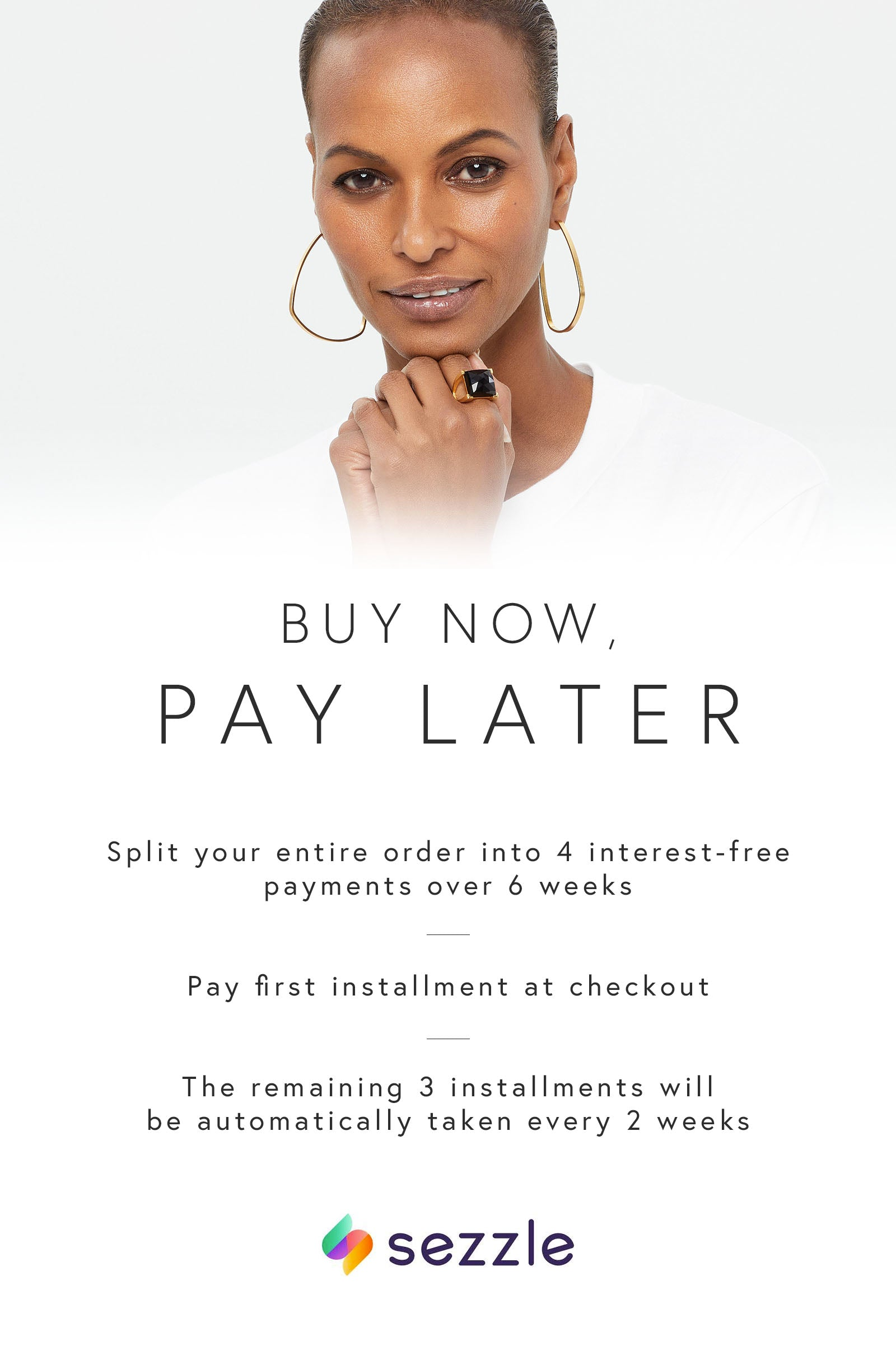 DEAN DAVIDSON JEWELRY PAYMENT BUY NOW PAY LATER SEZZLE