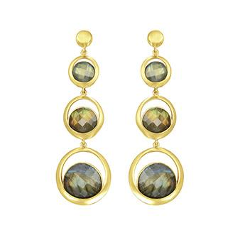 TRIPLE LAPA EARRINGS
