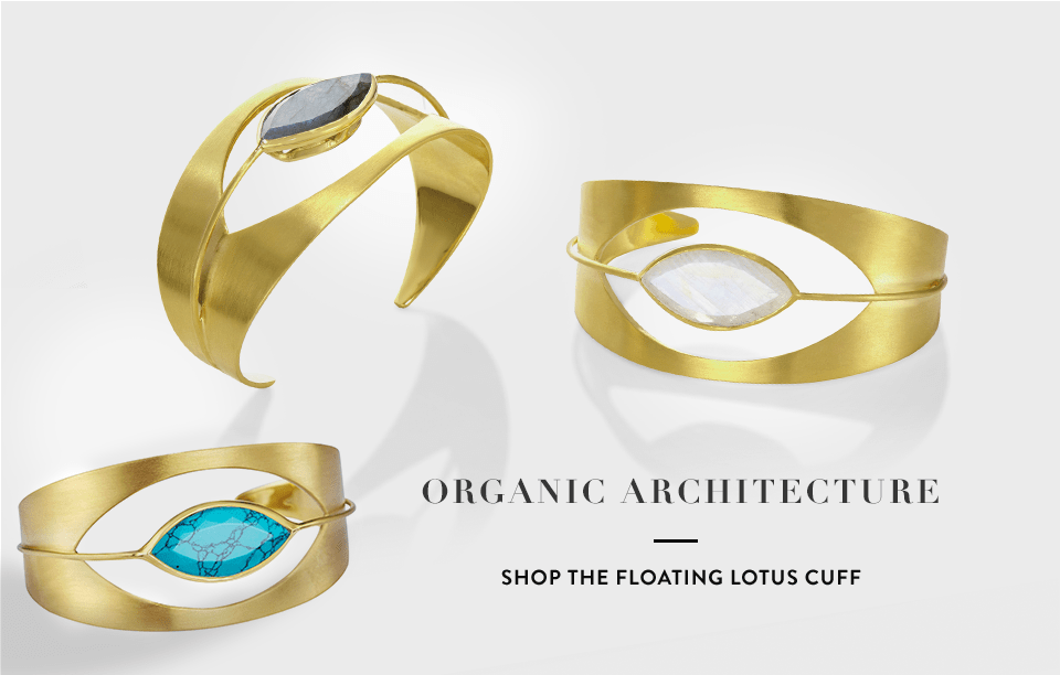 Organic Architecture - Shop the Floating Lotus Cuff