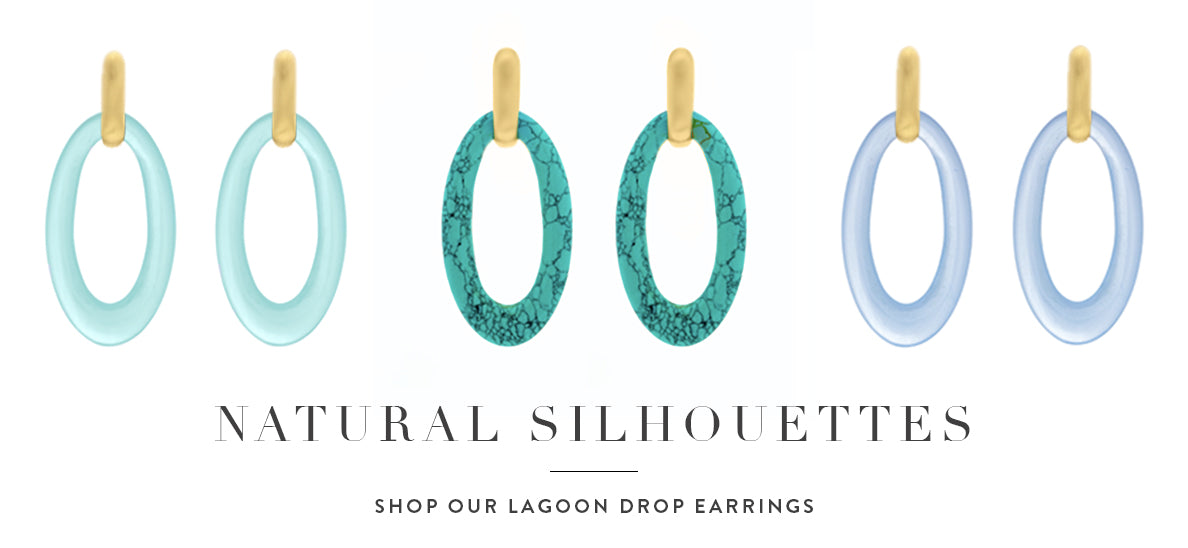 natural silhouettes shop our lagoon drop earrings