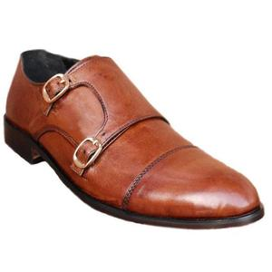 ELETE Handmade Leather Monk-Strap Style